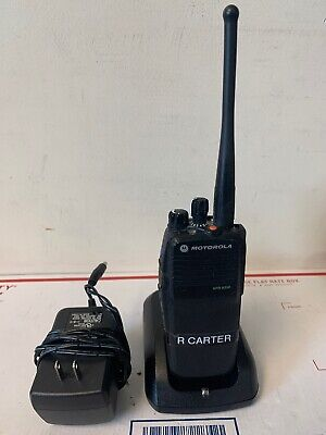 Motorola Xpr 6350 Uhf Aah55tdc9la1an 450-512mhz W Charger Tested