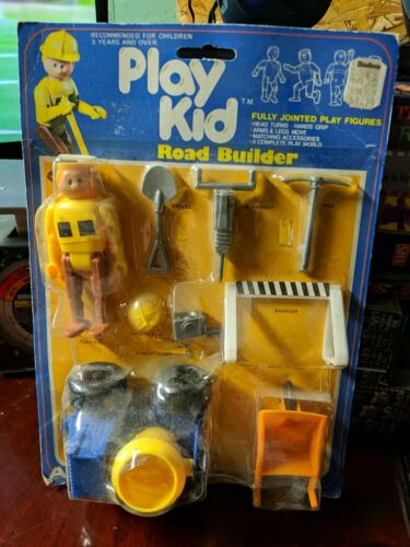 Vintage 1978 ARCO Play Kid Road Builder, New On Card, Super Rare - $116.41