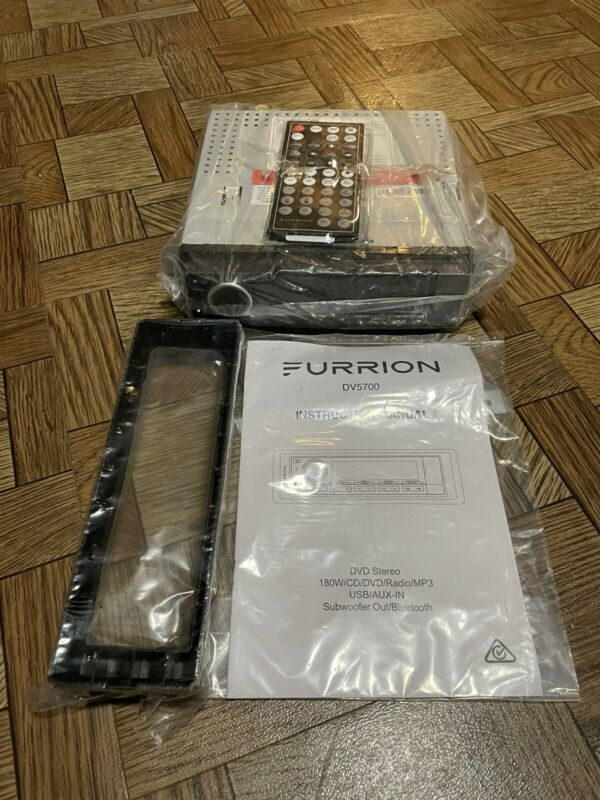 Furrion DV5700  Wallmount DVD/USB/Bluetooth RV Receiver BRAND NEW Remote AUX