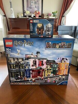 LEGO Harry Potter Diagon Alley (75978) + (40412) New Sealed In Hand