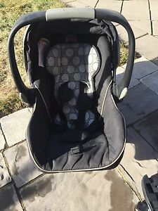 Britax B-Safe car seat with base