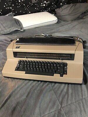 Vintage Ibm Correcting Selectric Iii Electric Typewriter Works-but Not Great