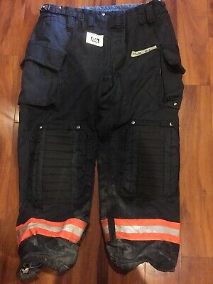 Firefighter Honeywell Morning Pride Turnout Bunker Pants 42x33 2014 Harness Loop