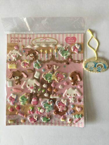 Sanrio Sugar bunnies Sticker Pink Trinket Ornament Sugarbunnies