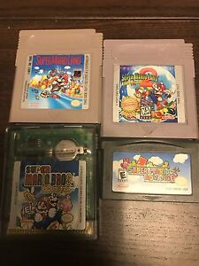Super Mario gameboy games for sale