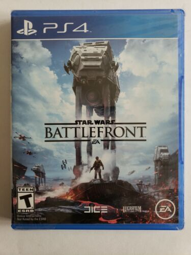 🔥🔥Star Wars: Battlefront Sony PlayStation 4, 2015 PS4 NEW Sealed SHIPS TODAY!