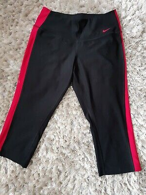Nike Ladies Gym 3/4 Leggins Size S Uk 10, used for sale  Shipping to Nigeria