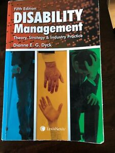 Disability management 5th edition
