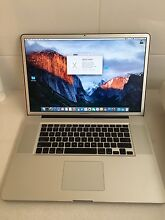 """MacBook Pro 17"""" / great condition / 1TB hard drive South Perth South Perth Area Preview"""