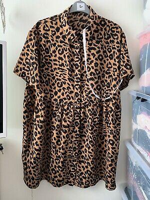 BNWOT Missguided Smock Shirt Dress Size 12
