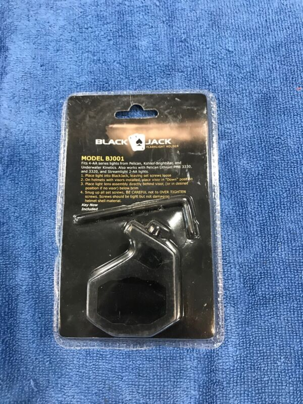 BlackJack Helmet Mount BJ001 Flashlight Holder