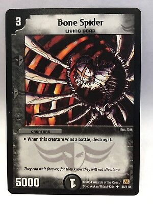 Bone Spider (48/110) | Duel Masters Trading Card Game Single Card