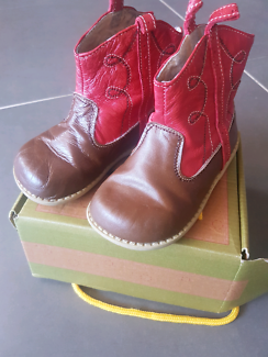 Livie and Luca boys shoes / leather boots