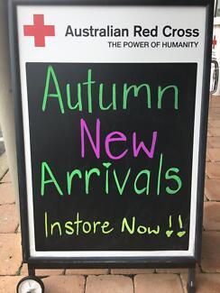 Autumn Arrivals Instore @ Australian Red Cross Cleveland