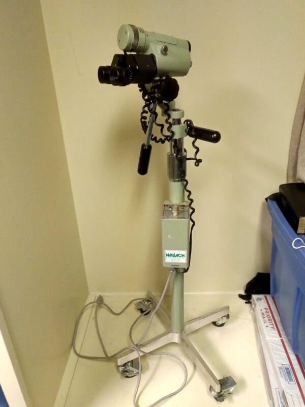 Wallach Surgical Colpostar V6 Binocular Colposcope Working Light *MAKE AN OFFER*