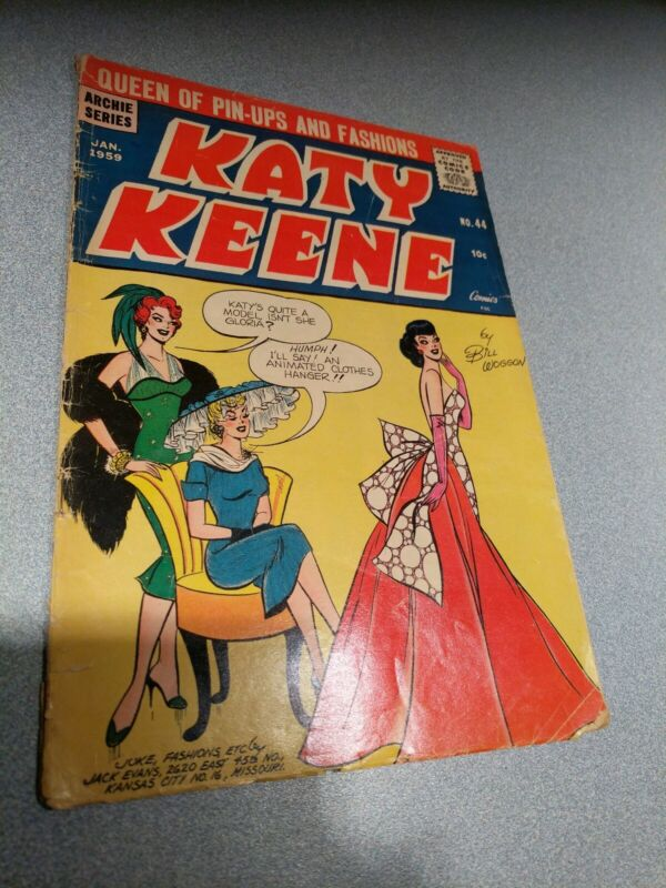 KATY KEENE #44 1959 32 pages fair to good