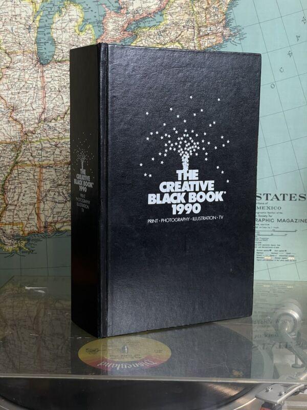 The Creative Black Book 1990 Hardcover Photography Print Illustration TV
