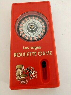 VINTAGE  1980 LAS VEGAS ROULETTE GAME Works Hong Kong
