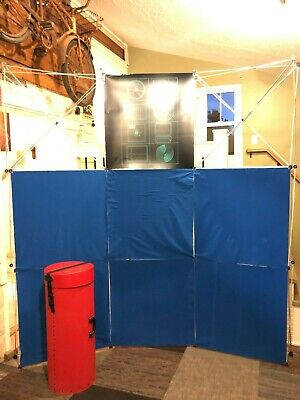 Nomadic Instand 8 Foot Display Tradeshow Trade Show Stand Carry Case