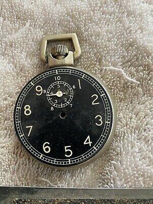 Antique  Elgin Timer Black Dial 15 Jewels