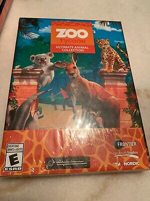 Usado, Zoo Tycoon: Ultimate Animal Collection PC Rated E Simulation Brand New Sealed comprar usado  Enviando para Brazil