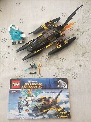 LEGO  76000  SUPER HEROES ~ ARCTIC BATMAN V MR FREEZE ~ PARTS 100% COMPLETE , used for sale  Shipping to Nigeria
