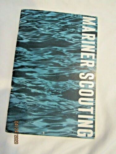 MARINER SCOUTING Girl Scout Handbook Book, EUC Extremely RARE, Collector