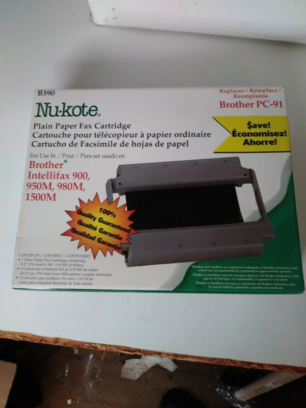 Nu-kote Plain Paper Fax Cartridge B390
