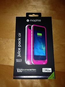Brand new mophie juice pack air/5s/5/SE
