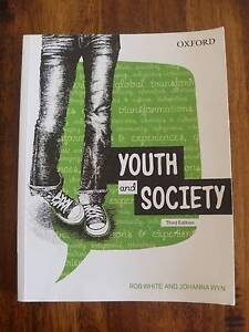 Youth and Society by Rob White & Johanna Wyn Coopers Plains Brisbane South West Preview