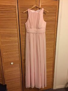 Long Bridesmaid Dress Light Pink Blush