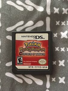POKEMON MYSTERY DUNGEON EXPLORERS OF DARKNESS DS GAME