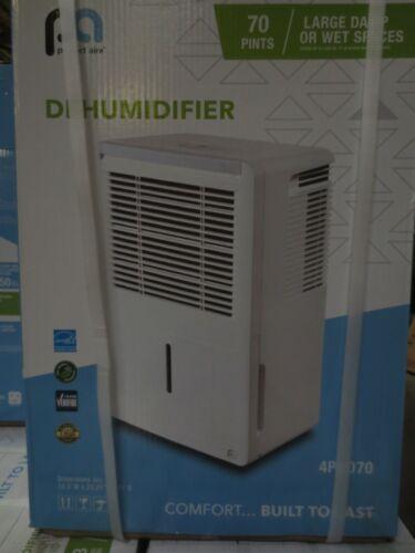 Perfect Aire - 70-Pint Portable Dehumidifier - White - MODEL 4PAD70