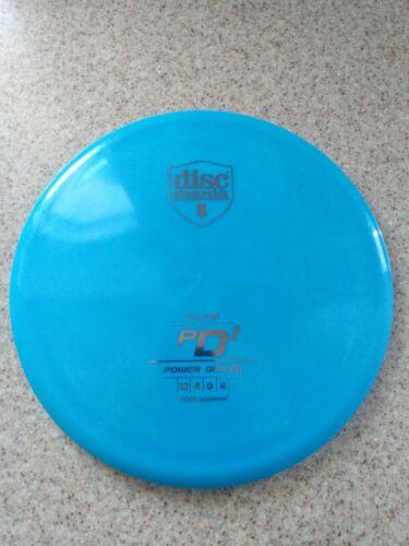 Rare Discmania Originals S-Line PD2 175g OOP Swirly Blue Silver Stamp Innova - $69.00
