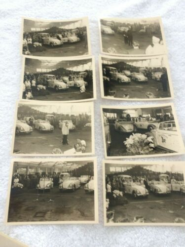 Vintage Very Rare Afga-Brovira Original Volkswagen Photographs
