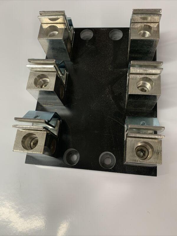 Littelfuse - LFJ60200-3C - Fuse Holder Block, 200A, 600V, 3Pole, Box Lug New