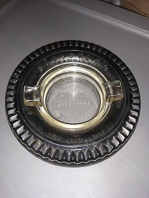 Vintage Firestone Tire Ashtray 1939 New York World's Fair
