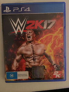 WWE 2k17 PS4 Andrews Farm Playford Area Preview