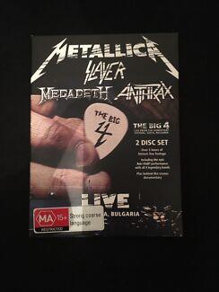 Metallica Slayer Megadeath Anthrax DVD