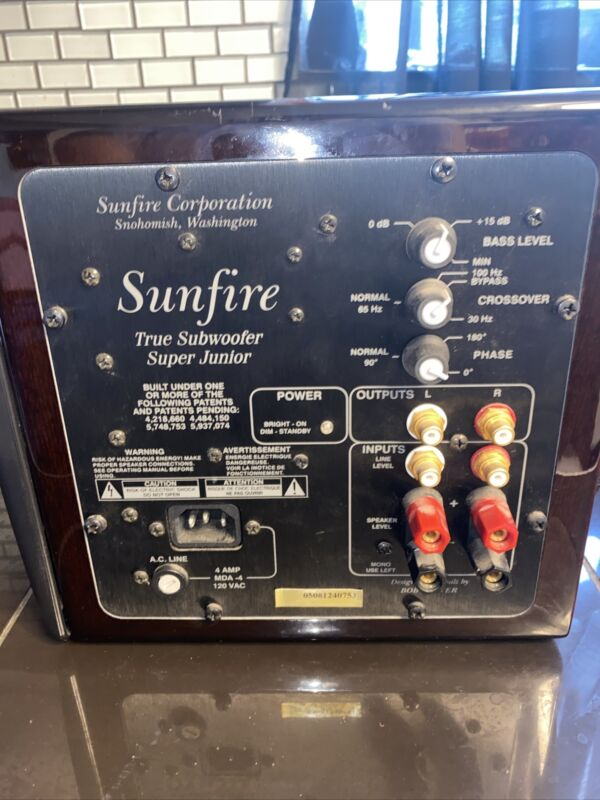 Sunfire True Subwoofer Super Jr