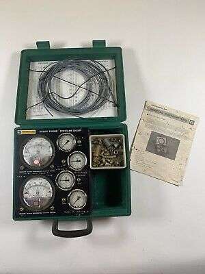 Cat Caterpillar 6v3150 Engine Pressure Group Kit W Case Accessories