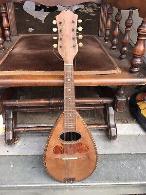 Alfredo Albertini Catania, No 65 Flack Mandolin, Made In Italy
