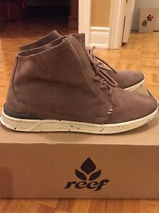 Reef  Rover HI Sneaker Taupe - NEW!