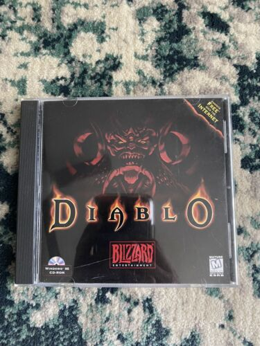 Computer Games - Diablo 1 (PC CD-Rom) Vintage 1995  - Blizzard Computer Classic Game