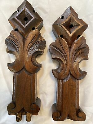 1890s Unusual Carved Piece Early Antique Georgian Hand Carved Horse Finial Unusual Antique Piece Wow!