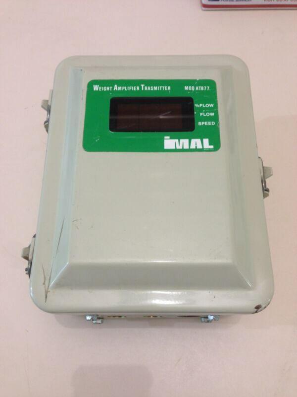 USED IMAL WEIGHT AMPLIFIER TRANSMITTER AT877 IMAL 877Z.A