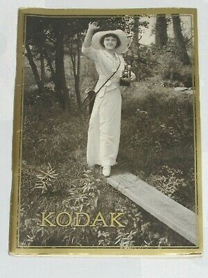 04F59 Rare Vintage Catalogue General Cameras Photos Kodak Date January 1916
