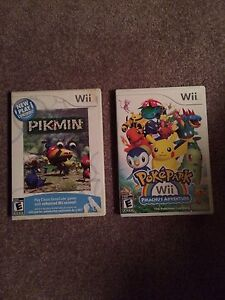 Pikmin and Pokepark WII Games