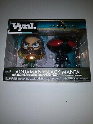 Funko Vynl. Figures 2-Pack - Aquaman - AQUAMAN & BLACK MANTA - New in Box