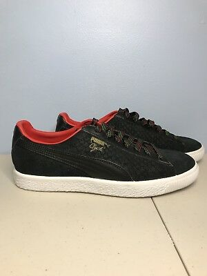 Puma Clyde 7.5 Black Suede Jay-Z ATCQ Supreme SB Staple Basket Suede Cell  Kith fb77b2755